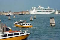 Spendour of the Seas in Venice